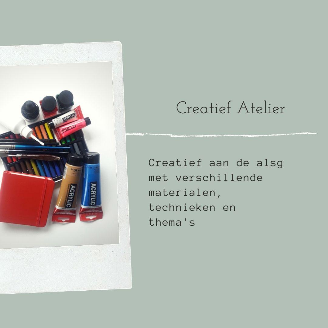Creatief atelier, schilderen, tekenen, nieuwegein, utrecht