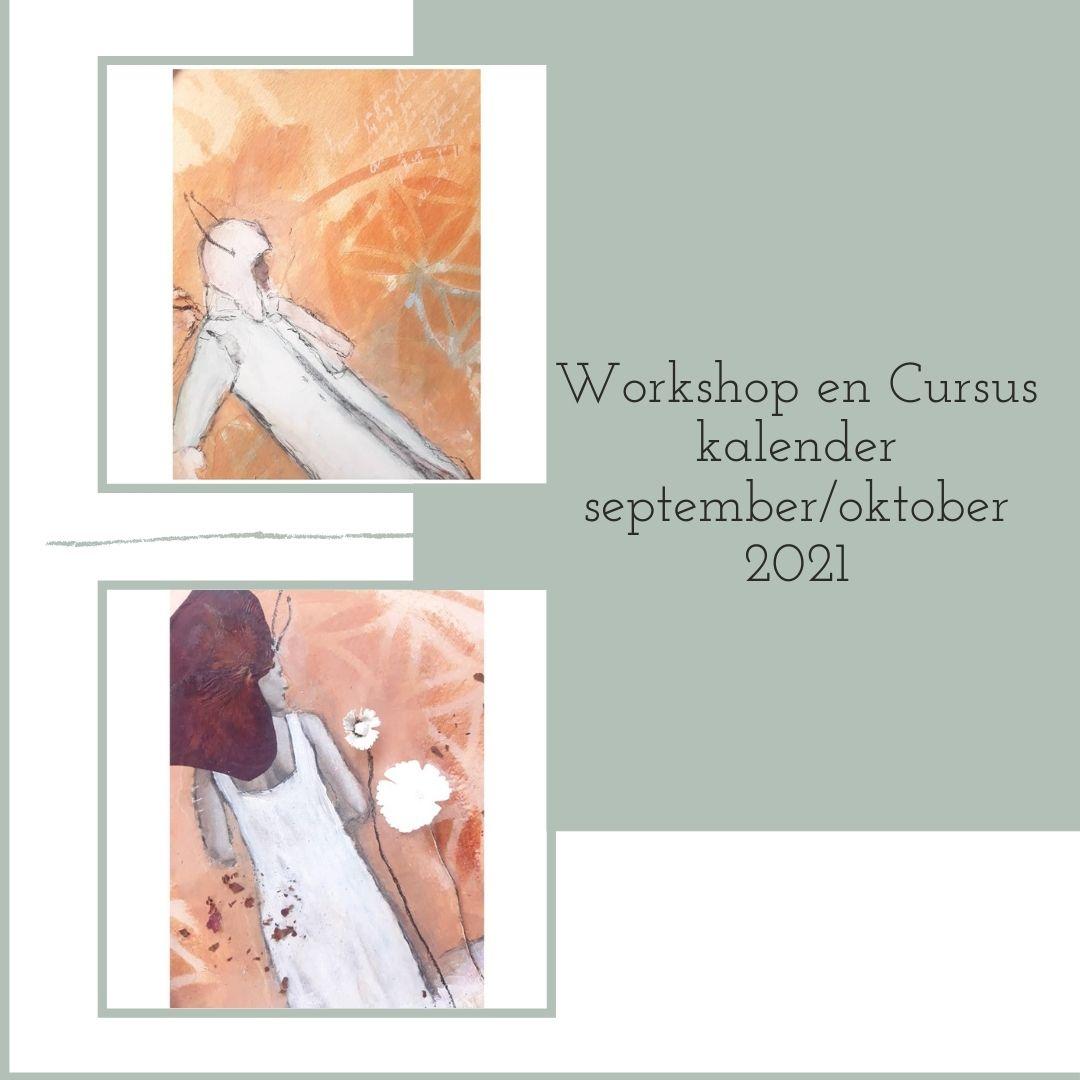 workshops en cursussen schilderen met acrylverf en mixed media, omgeving Leerdam, Utrecht, Nieuwegein