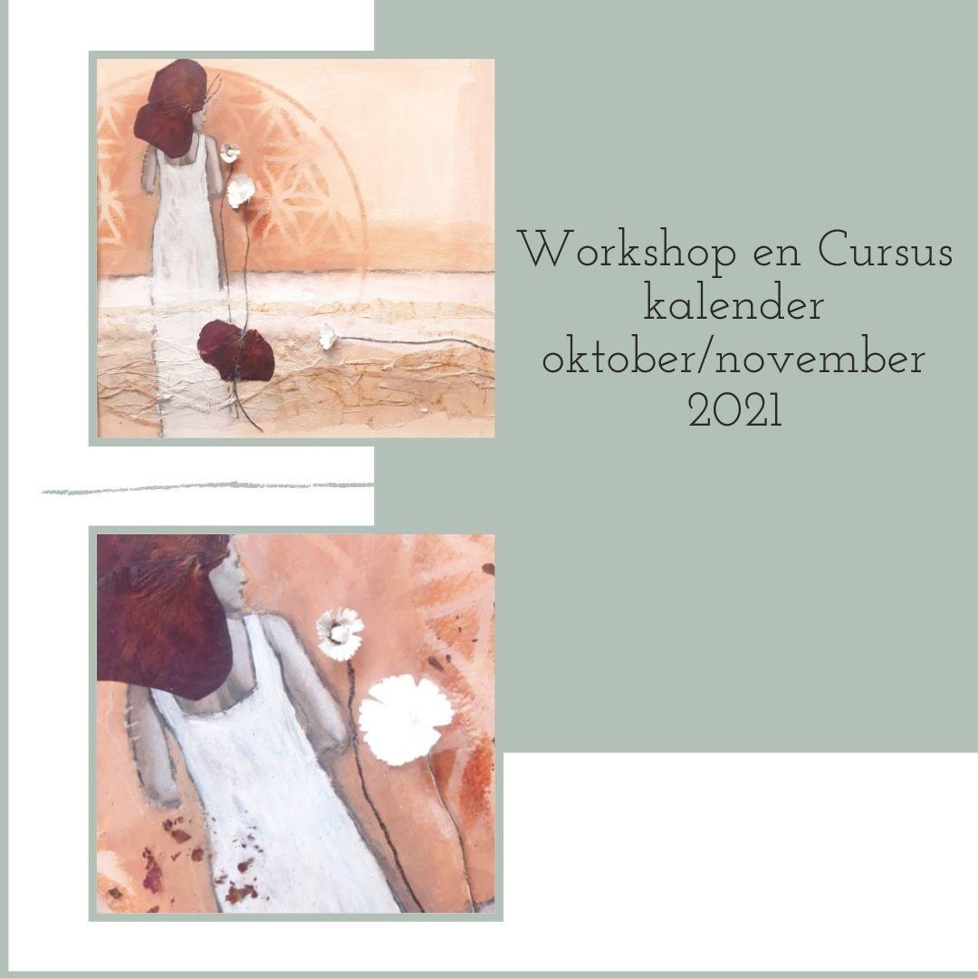 workshops en cursussen schilderen met acrylverf en mixed media omgeving Leerdam, Utrecht, Vianen, Gorinchem